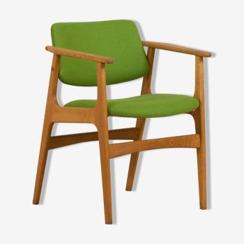 Vintage Danish oak chair, Denmark 1960s