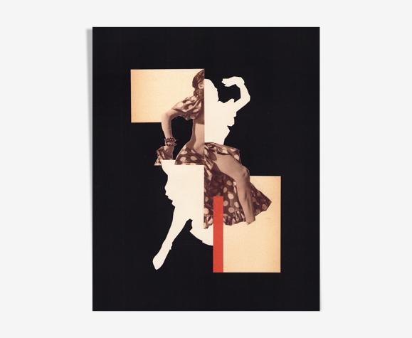 Collage La Danseuse I