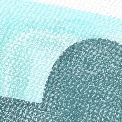 Peinture sur papier signée Eawy sans cadre N297