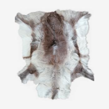 Peau de renne claire 100x120cm