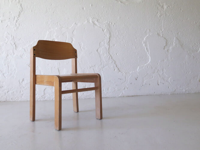 Vintage modernist kids chair