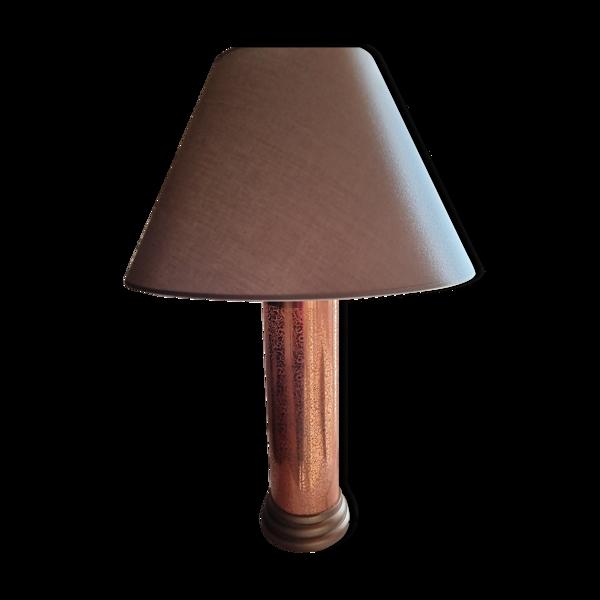 Lampe rouleau d' imprimerie années 80