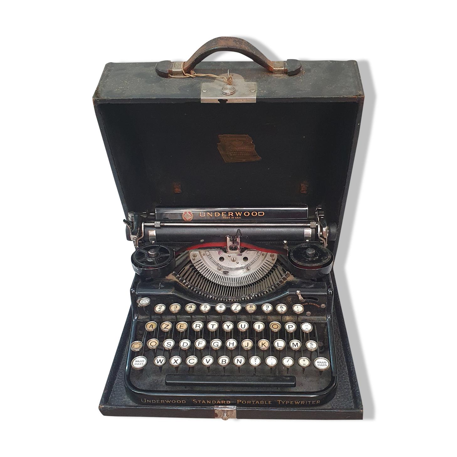 Machine à écrire underwood usa 1940