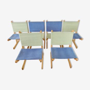Ensemble de 6 chaises par Ditte &Adrian Heath France & Son