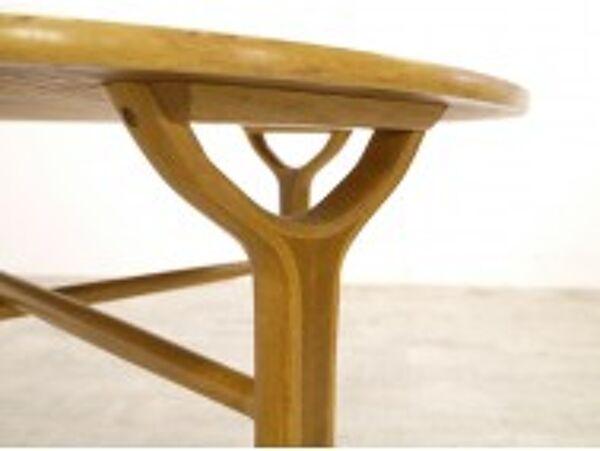 Table basse scandinave P. Hvidt & O. Molgaard-Nielsen AX
