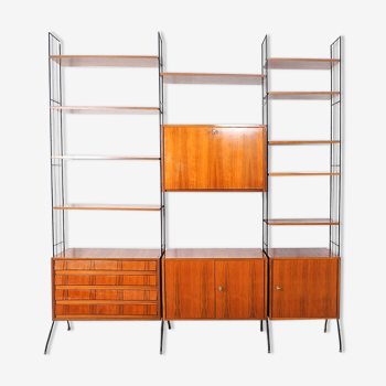 Free standing wall unit, Germany 1950's