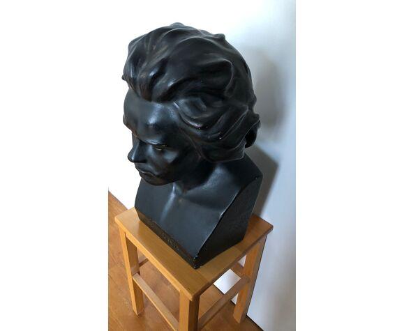 Buste de Beethoven en plâtre