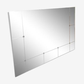 Miroir 100x 160 art déco à cabochons mural