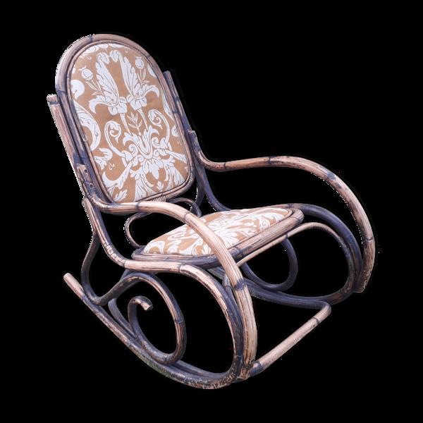 Rocking chair rotin