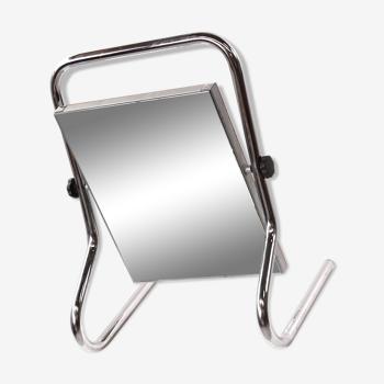 Tubular Steel Mirror, 1960s 40x64cm