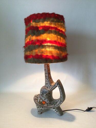 Zoomorph lamp Marius Bessone Vallauris