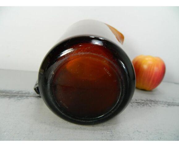 Pichet en verre ambre Vereco