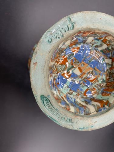 Vase mosaïque 24 Gerbino, Vallauris