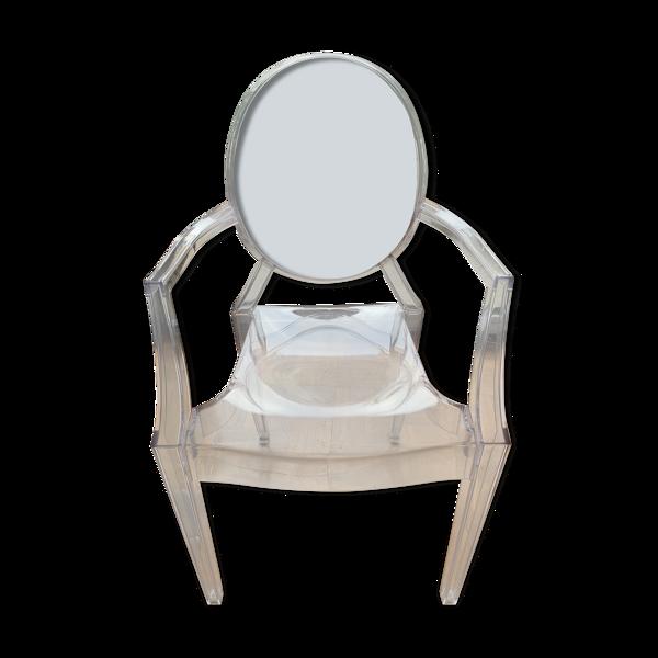 Fauteuil Louis Ghost de Philippe Starck pour Kartell
