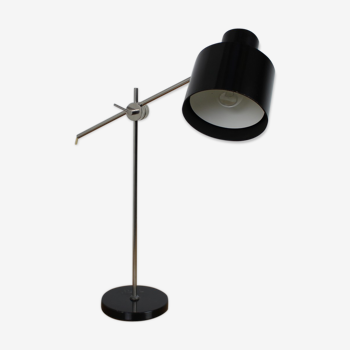 Lampe de table du milieu du siècle années 1970.