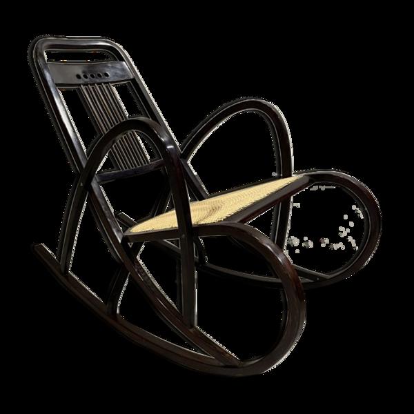 Selency Rocking-chair n° 511 par Marcel Kammerer pour Thonet