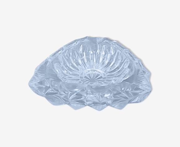 Cendrier en cristal Baccarat vintage