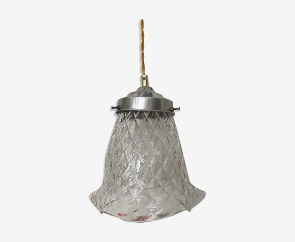 Lampe baladeuse en verre transparent