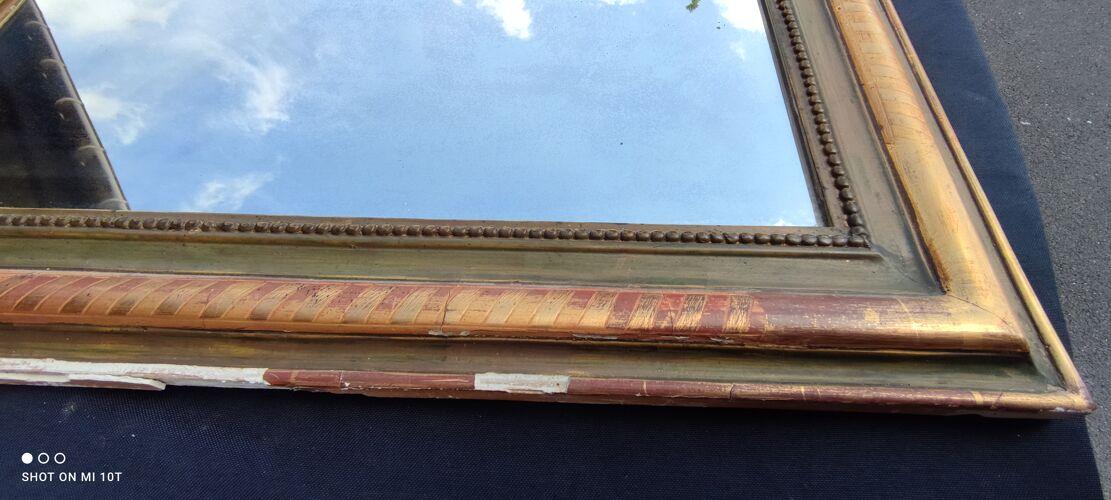 Miroir doré/19 Ème siècle 101 cm X 78 cm