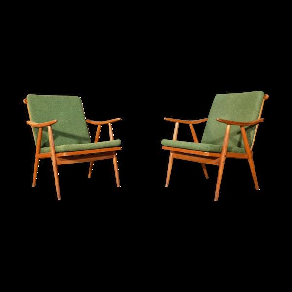 Paire de fauteuils, Ton modèleBoomerang