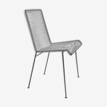 Chaise mazunte grise marque boqa