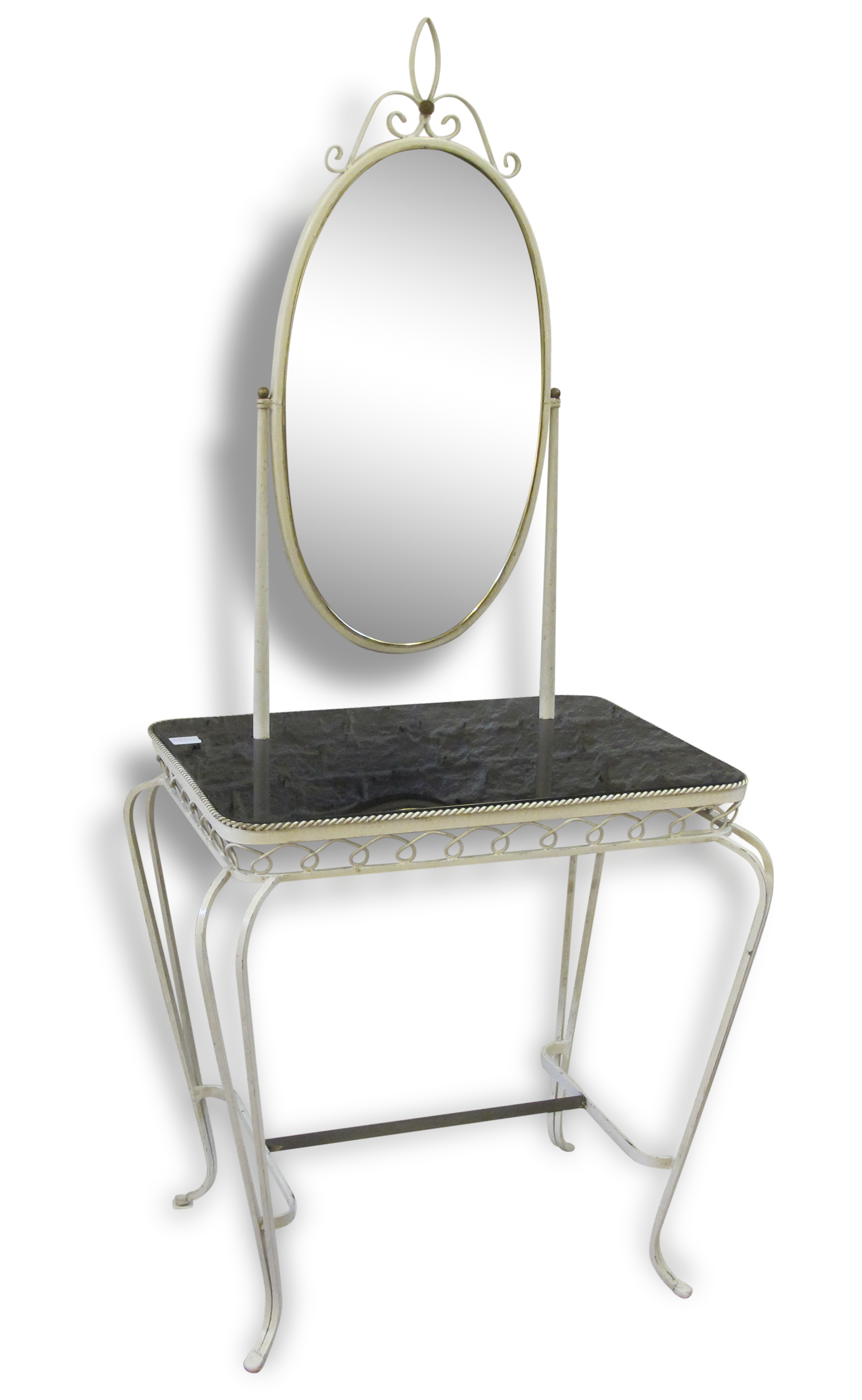 Dressing table from hair salon