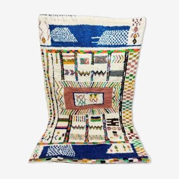 Tapis berbère marocain 263 x 155cm