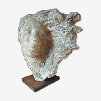 Buste de femme, Antonin Carlès (1851-1919)