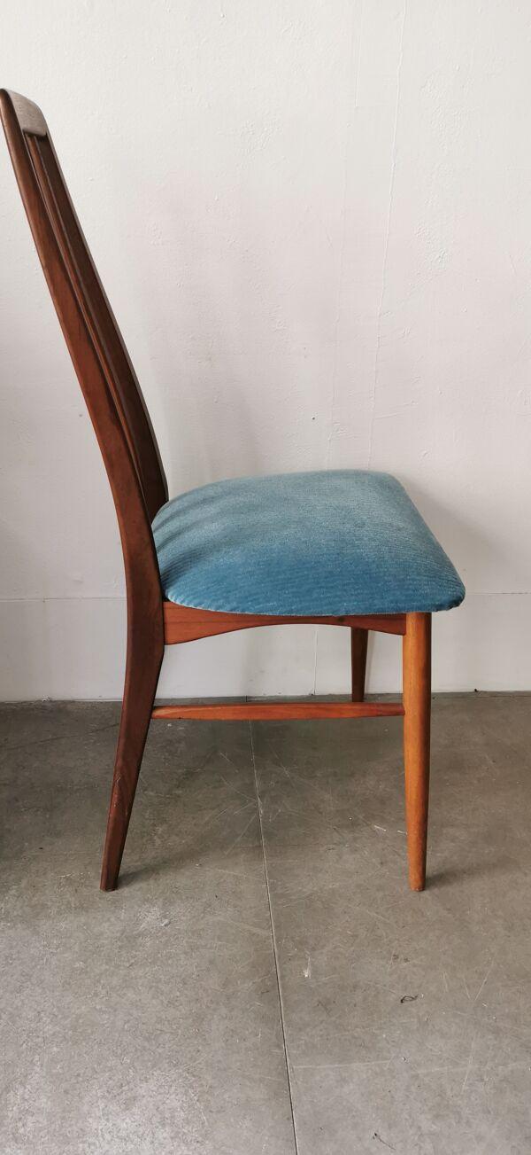 Chaise danoise de bureau en teck circa 1960