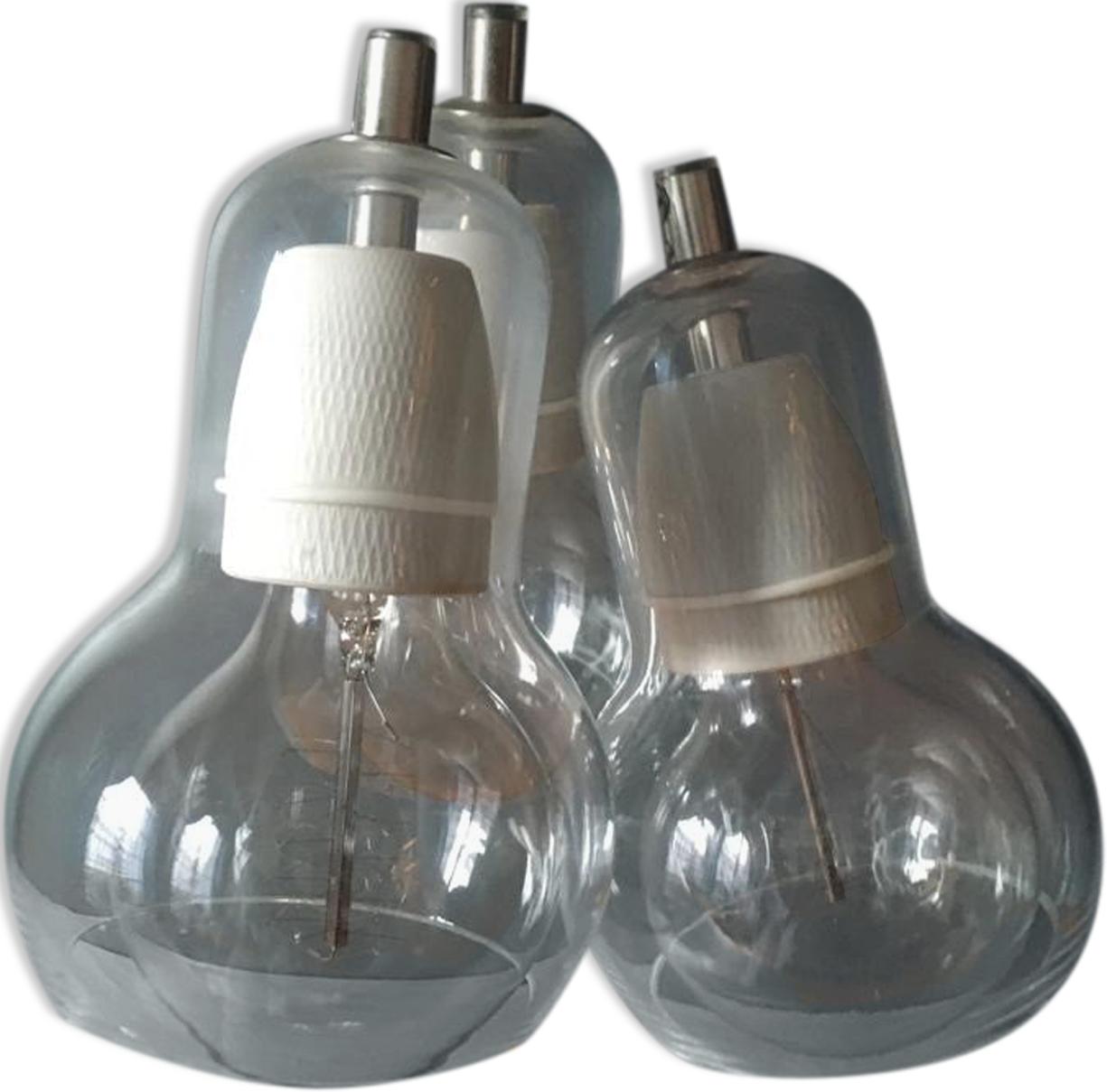 Suspension Bulb en verre Sofie Refer