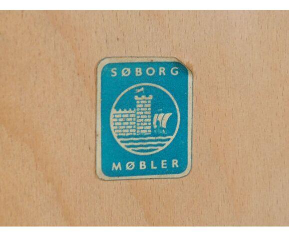 Buffet en teck Børge Mogensen, fabricant Søborg Møbler 1960