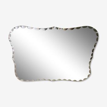 Miroir biseauté 69x92cm