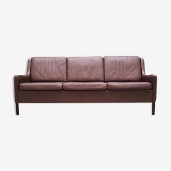 Sofa leather, Danish design, 70's