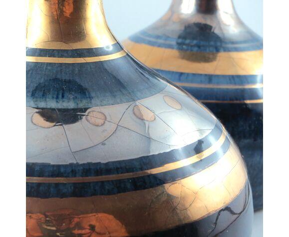 2 feet of lamp ceramic George Pelletier vintage Vallauris