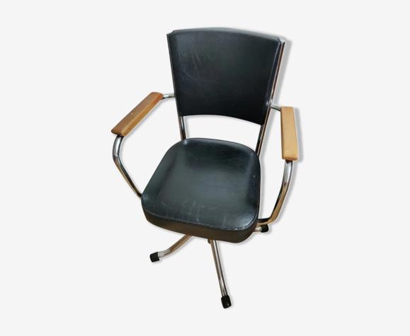 Chaise de bureau vintage années 50