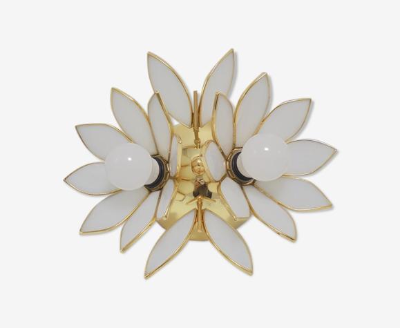 Plafonnier fleurs de lotus