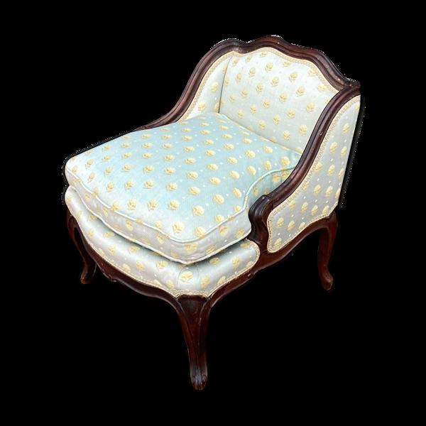 Selency Saut de lit en noyer d'époque Louis XV XVIII eme siècle