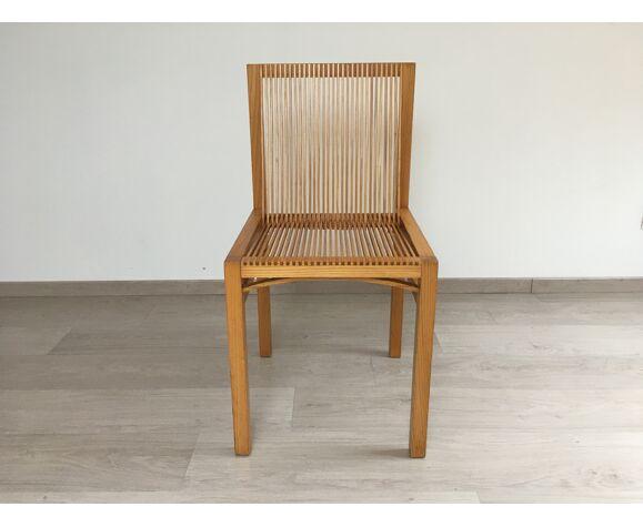 Chaise moderniste Ruud Jan Kokke années 80