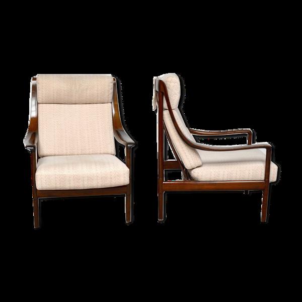 Selency Paire de fauteuils Wilhelm Knoll, 1960