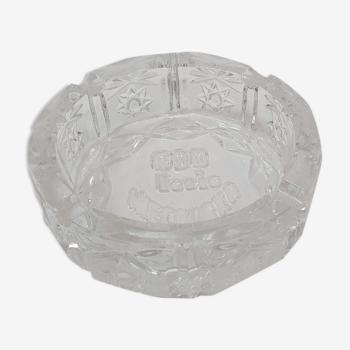 Cendrier ou vide poche cristal de Bohême