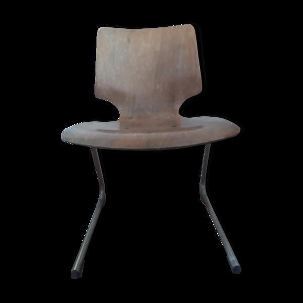 Chaise bois style industriel