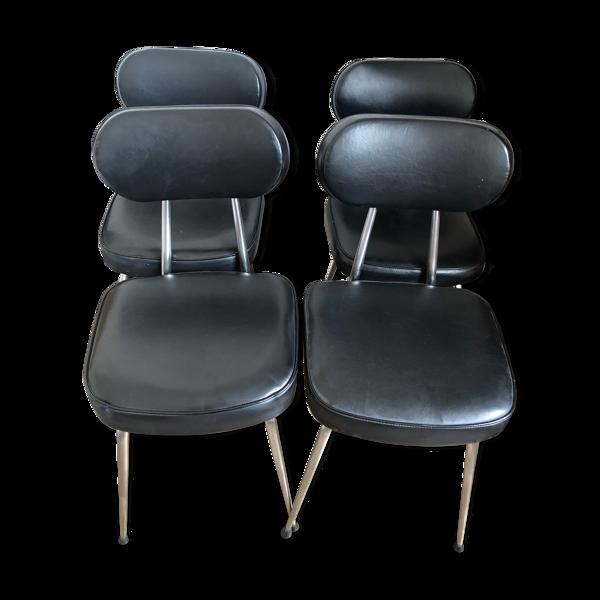 Lot de chaises vintage années 50/60