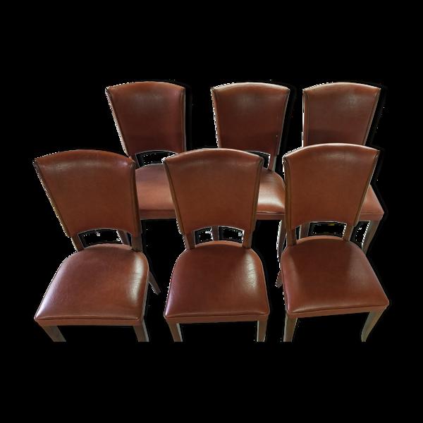 Selency 6 chaises art déco