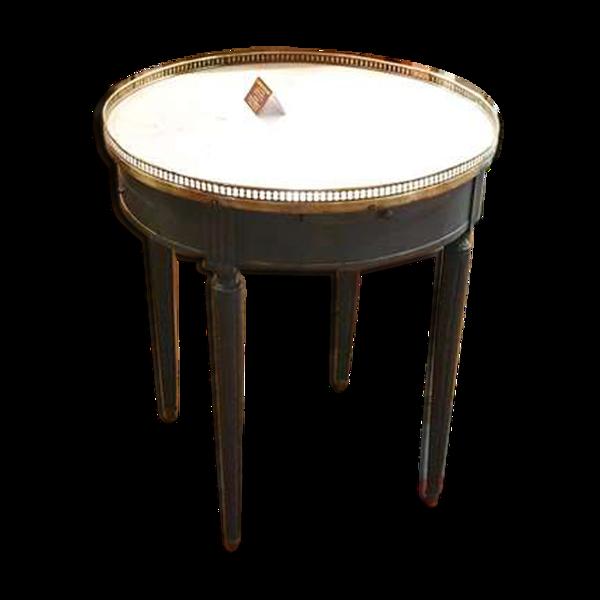 Selency Table bouillotte style Louis XVl patinée