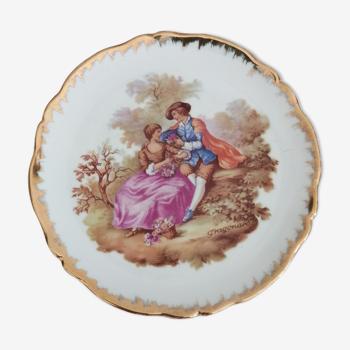 Assiette porcelaine Limoges