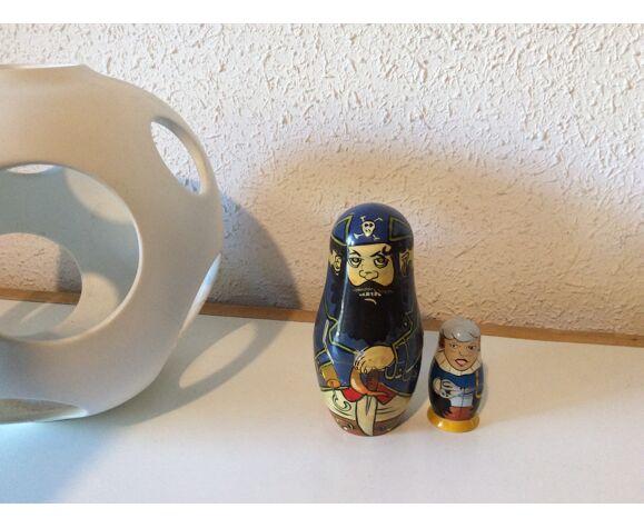 Poupées russes pirates vintage