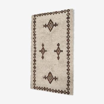 vintage wool carpet, Germany 60s 159x86cm