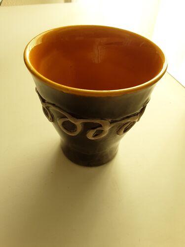 Pichet vallauris avec duo de tasses