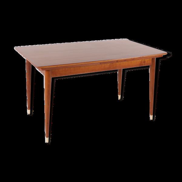 Table de style scandinave à allonges 1960