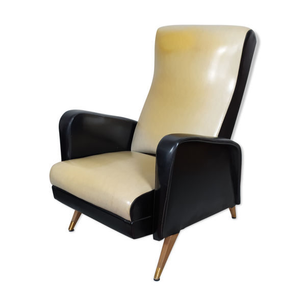 Fauteuil inclinable années 50